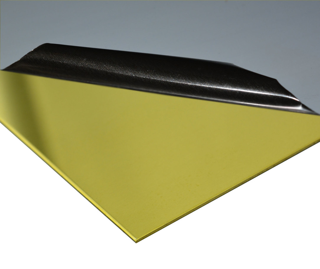 2 mm Messing Blech L.700-1000mm B.100-250mm Ms63 halbhart Folie 352,20 €//m²