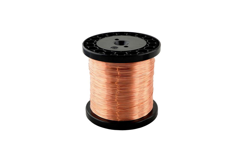 Kupfer-Draht CW003A (E-Cu) 0,5 mm weich R220 Spule 1-3 kg