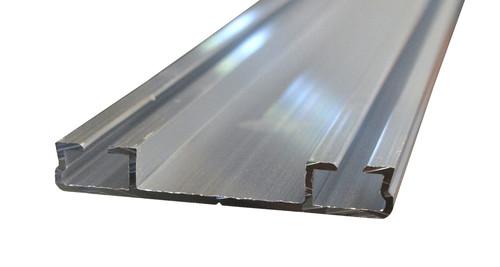 Alu Flachdeckschiene System 60 (60,1x9,0mm) blank EZL 6 m