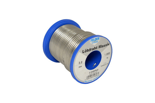Lötdraht L-Sn60Pb 3,0mm Spulen à 1kg