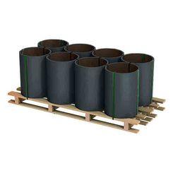 Alu Farbband anthrazit/anodicbraun 0,7x1000mm      Rolle a 100 kg